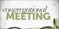Congregational Meeting - Thin Line