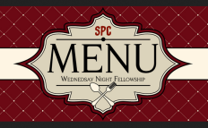 Wedneday Night Fellowship