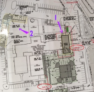 Map of SPC Expansion Project